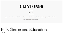 Preview of clinton96.org